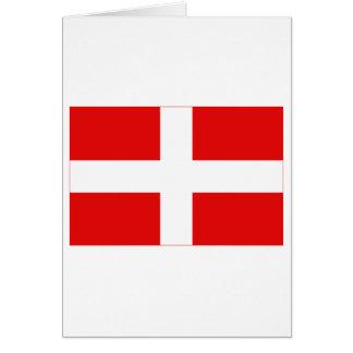Bandera de Haute-Saboya Tarjeta De Felicitación