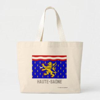 Bandera de Haute-Saône con nombre Bolsa