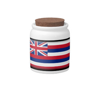 Bandera de Hawaii Jarra Para Caramelo