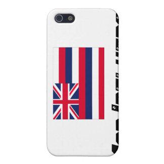 Bandera de Hawaii, influencia enojada iPhone 5 Cárcasa