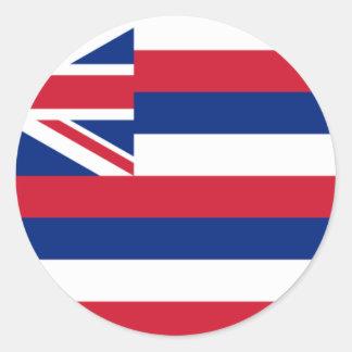 Bandera de Hawaii Etiquetas