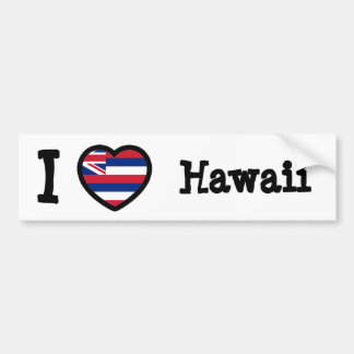 Bandera de Hawaii Pegatina Para Auto