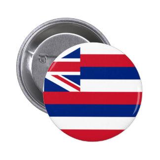 Bandera de Hawaii Pin Redondo De 2 Pulgadas