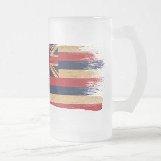 Bandera de Hawaii Taza De Cristal