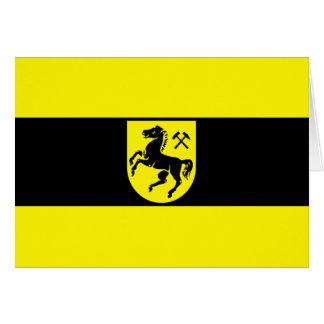 Bandera de Herne, Alemania Tarjetón