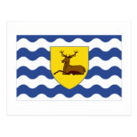Bandera de Hertfordshire Tarjetas Postales