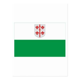 Bandera de Hiiu Tarjeta Postal