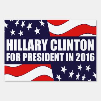 Bandera de Hillary Clinton 2016 los E.E.U.U. Señal