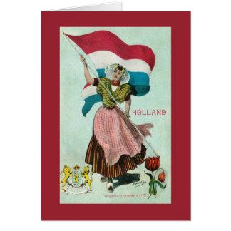 Bandera de Holanda - Reino de los Países Bajos Felicitaciones