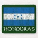 Bandera de Honduras Alfombrillas De Ratón