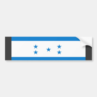 Bandera de Honduras Etiqueta De Parachoque