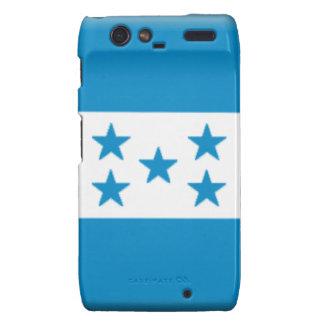 Bandera de Honduras Motorola Droid RAZR Funda
