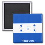 Bandera de Honduras Imán Cuadrado