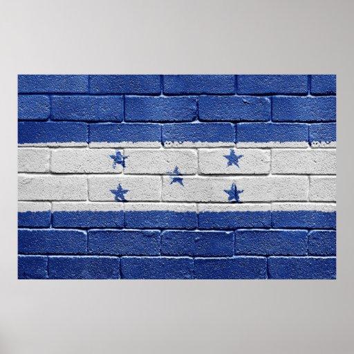 Bandera de Honduras Impresiones