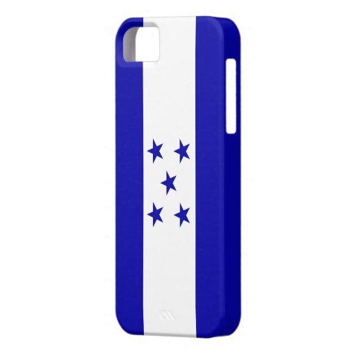 Bandera de Honduras iPhone 5 Case-Mate Cobertura