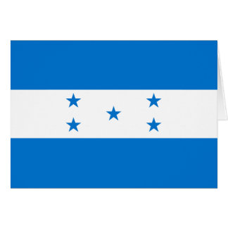 Bandera de Honduras Tarjeta Pequeña