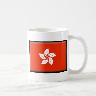 Bandera de Hong Kong (China) Tazas De Café