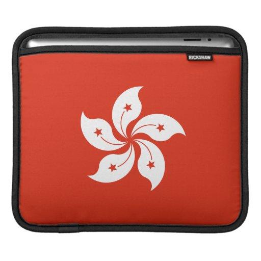 Bandera de Hong Kong Funda Para iPads