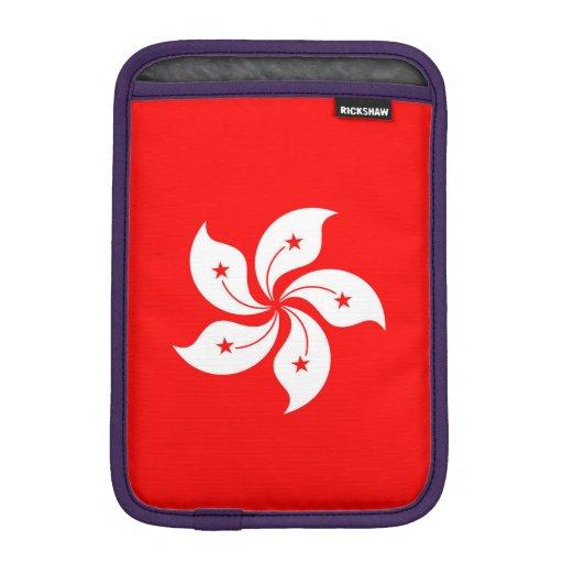 Bandera de Hong Kong Fundas De iPad Mini