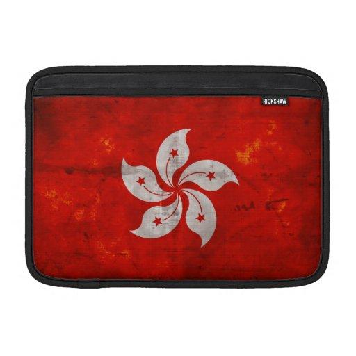 Bandera de Hong Kong Fundas MacBook