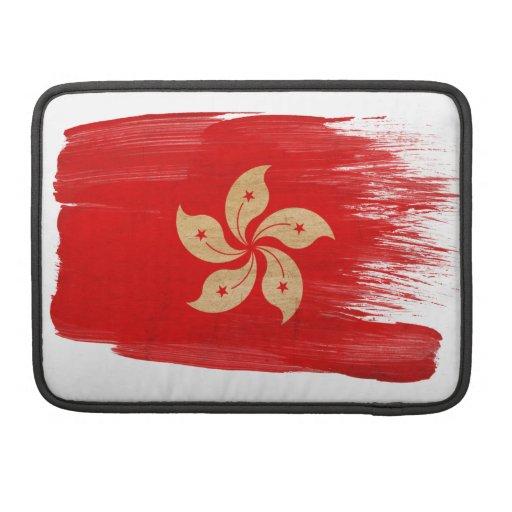 Bandera de Hong Kong Funda Macbook Pro
