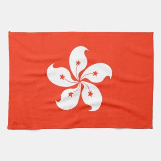 Bandera de Hong Kong Toalla De Mano