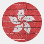 Bandera de Hong-Kong Pegatina