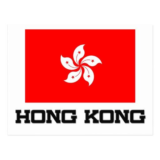 Bandera de Hong Kong Postal