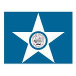Bandera de Houston - postal - modificada para requ
