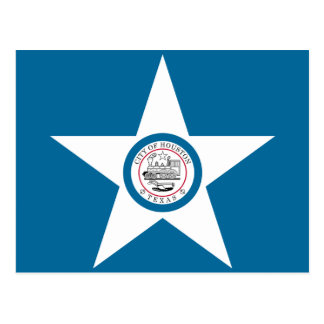 Bandera de Houston Postales