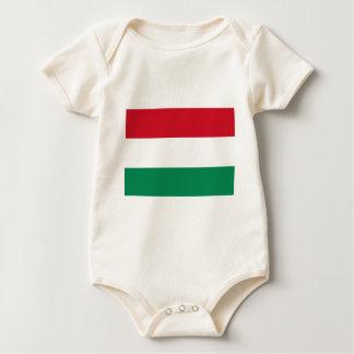 Bandera de Hungría Body Para Bebé