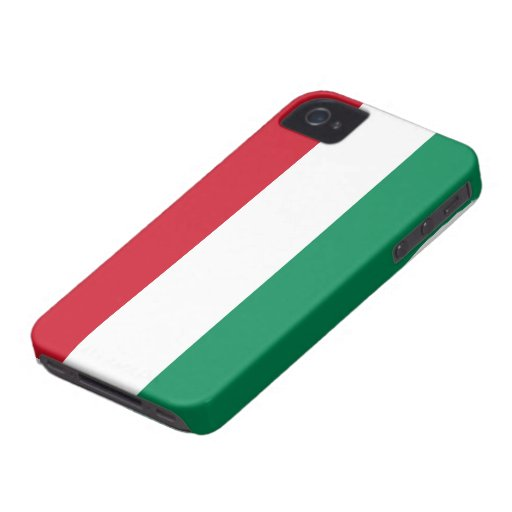 Bandera de Hungría Case-Mate iPhone 4 Carcasas