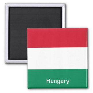Bandera de Hungría Imán Para Frigorifico