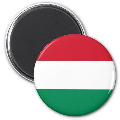 Bandera de Hungría Imán Redondo 5 Cm