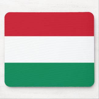 Bandera de Hungría Tapetes De Ratón