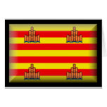 Bandera de Ibiza España Felicitacion