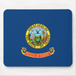 Bandera de Idaho Alfombrillas De Raton