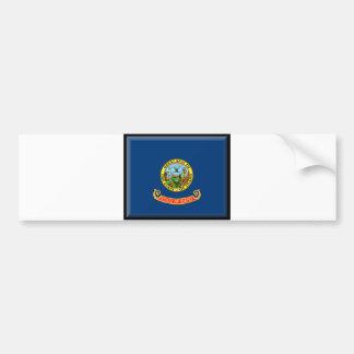 Bandera de Idaho Pegatina De Parachoque
