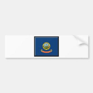 Bandera de Idaho Etiqueta De Parachoque
