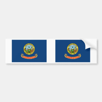Bandera de Idaho Pegatina Para Coche