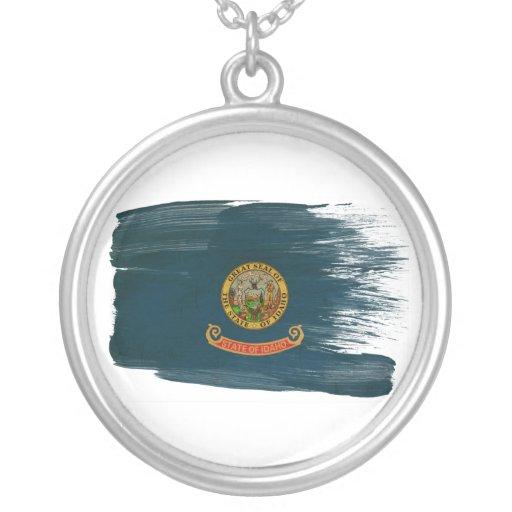 Bandera de Idaho Colgante Redondo