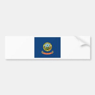 Bandera de Idaho Pegatina Para Auto