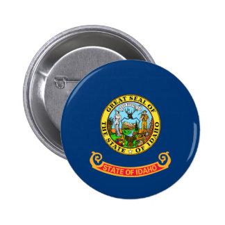 Bandera de Idaho Pin Redondo De 2 Pulgadas