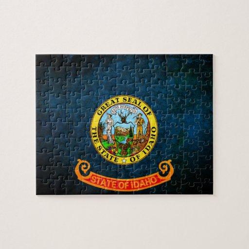 Bandera de Idaho Puzzles Con Fotos
