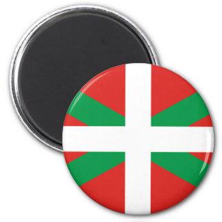 Bandera de Ikurrina Imán Redondo 5 Cm