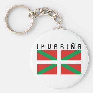 Bandera de Ikurrina Keychain