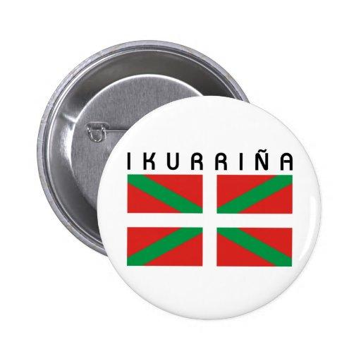 Bandera de Ikurrina Pins