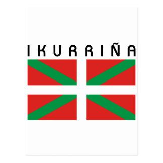 Bandera de Ikurrina Postcard