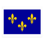 Bandera de Île-de-Francia Postal