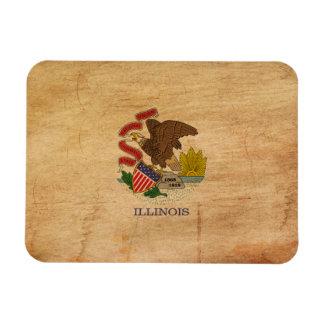 Bandera de Illinois Iman